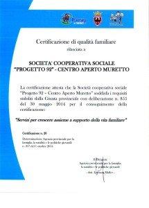 CertificazioneQualitaFamiliare_Muretto
